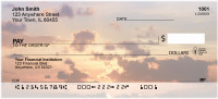 Sunsets And Clouds Personal Checks | BAA-88