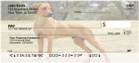 Rhodesian Ridgeback Dog Personal Checks | BAC-63