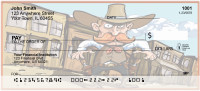 Cowboy Cartoon Fun Personal Checks | BAD-43