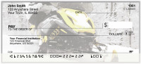 Snowmobile Fun Personal Checks | BAK-36