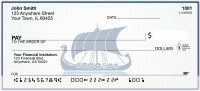 Vintage Sailing Boats Personal Checks | BAL-82