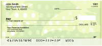 Butterfly Dots Personal Checks | BAQ-81