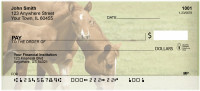 Baby Horses with Moms Personal Checks | BAQ-86
