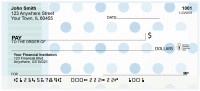 Blue Dots Galore Personal Checks | BAQ-98
