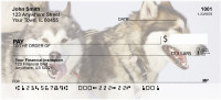 Sled Dogs Personal Checks | DOG-43