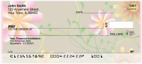 Sweet Blooms Personal Checks | GEO-20