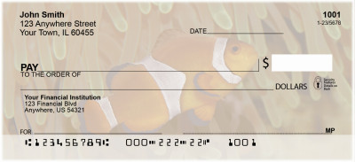 Tropical Fish Personal Checks | ANI-01
