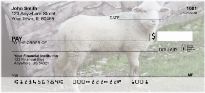 Sheep Personal Checks | BAA-27