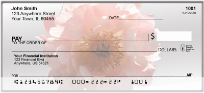 Mom's Peonies Personal Checks | BAA-67