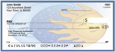 Celestial Sun and Moon with Stars Personal Checks | BAB-81