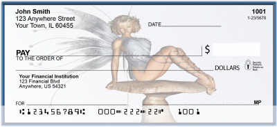 Forest Fairy Personal Checks | BAD-37