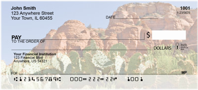 Cactus In The Desert Personal Checks | BAF-19