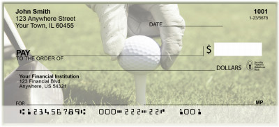 Golfing Frenzy Personal Checks | BAH-75
