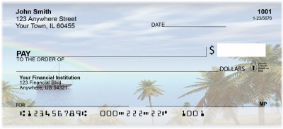 Rainbow Landscapes Personal Checks | BAI-47