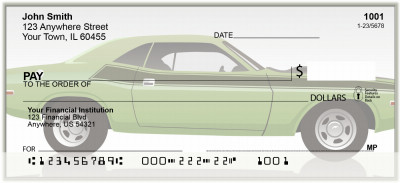 Classic Muscle Cars Personal Checks | BAK-91
