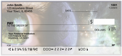Earth - Our Universe Personal Checks | BAL-50