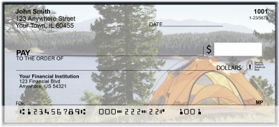 Wilderness Camping Personal Checks | BAN-71