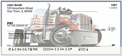 Trucking In America Personal Checks | BAP-28