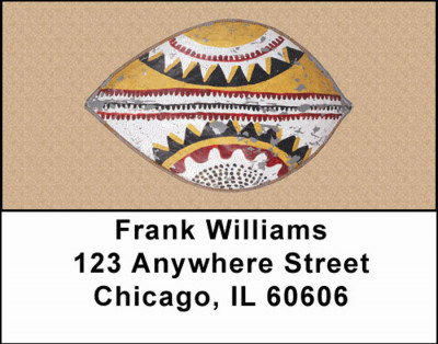 African Shields Address Labels | LBAFR-04
