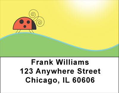 Doodlebugs Address Labels | LBANI-92