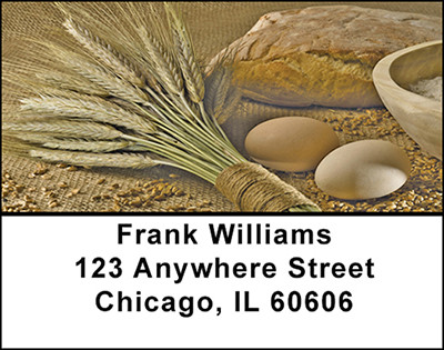 Homemade Bread Address Labels | LBBAC-14