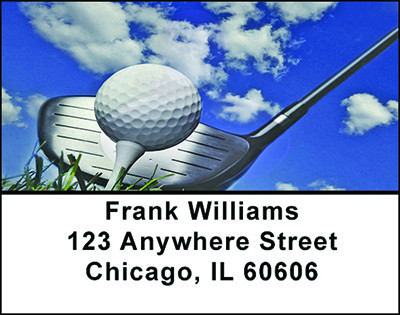 Hole In One Address Labels | LBBAF-78