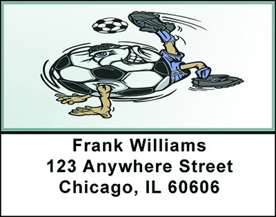 Soccer Magic Address Labels | LBBAF-98