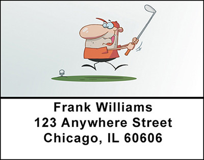 Golf Magic Address Labels | LBBAF-99