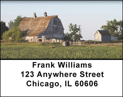 Old Country Farms Address Labels | LBBAH-24