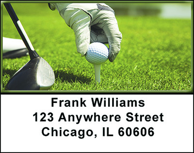 Hole in One Golf Address Labels | LBBAH-72