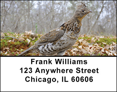 Grouse Address Labels | LBBAI-16