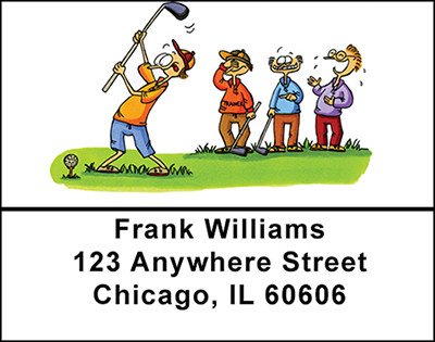 Golf Comedy Address Labels | LBBAM-11