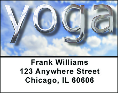 Yoga Today Address Labels | LBBAM-13