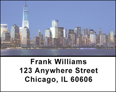 New York City Address Labels | LBBAO-22