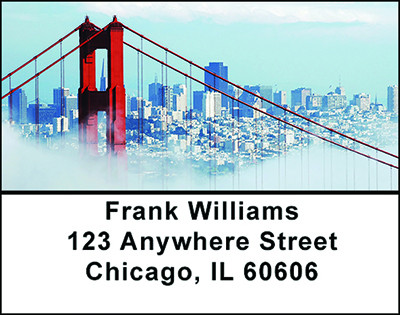 San Francisco Fun Address Labels | LBBAO-33