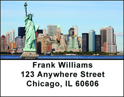 Fun In New York Address Labels | LBBAO-35