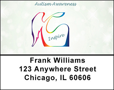 Autism Support Address Labels | LBBAP-16
