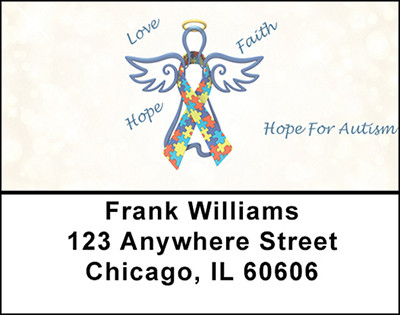 Hope For Autism Address Labels | LBBAP-20
