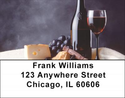 Wine Country Address Labels | LBFOD-03