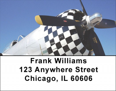 Warbird Cowling Address Labels | LBGCA-56