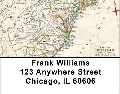 Historical East Coast Address Labels | LBMIL-13