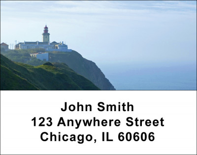 Lighthouses Scenic Views Address Labels | LBSCE-81