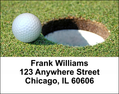 Golf Address Labels | LBSPO-03