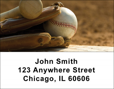 It's all about Baseball Address Labels | LBSPO-A4