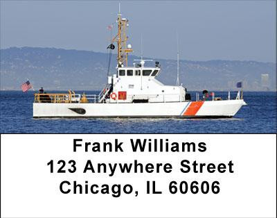 Coast Guard Address Labels | LBTRA-24