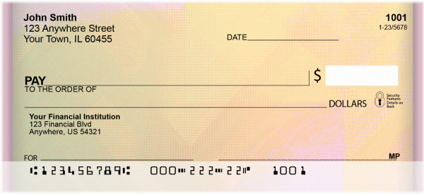 Colorful Collage Personal Checks | ABS-06