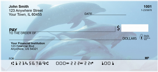 Dolphins Personal Checks | ANI-19