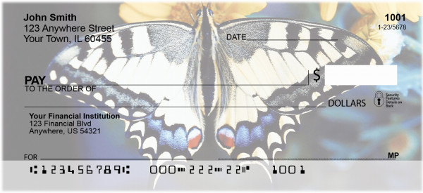More Butterflies in Nature Personal Checks | ANI-51