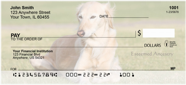 Saluki Personal Checks | BAA-18