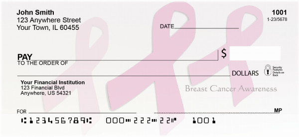 Breast Cancer Awareness Personal Checks | BAA-38